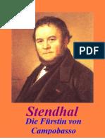 Die Fuerstin Von Campobasso - Stendhal