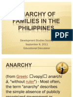 Anarchy of Families in the Philippines