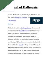 Earl of Dalhousie
