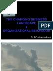 1 Strategic Business Landscape & Organizational Behaviour 1