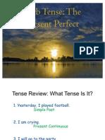 Present Perfect Presentation New