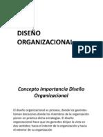 Presentación DISEÑO ORGANIZACIONAL