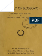 24348814 the Lay of Kosovo History and Poetry on Serbia s Past and Present 1389 1917 1917 Frederick William Harvey C Oman Sir Arthur Evans T R Gj