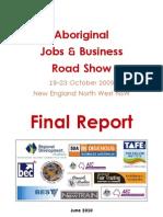 Final Report ~ Aboriginal Employment & Enterprise Roadshow
