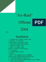 grey ghost air raid offense