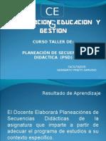5. Curso de Planecion de Secuencia Didactica