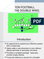 running the option from the dw by malcolm robinson jr