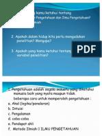 Presentasi Diklat Penulisan KTI