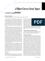 M.J. Tang and Q.A. Baker- A New Set of Blast Curves from Vapor Cloud Explosion