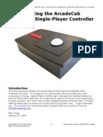 ArcadeCab's Original Ultra-Trackball Plans