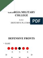 gmc defense playbook