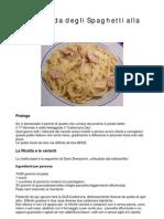 Piccola Storia Degli Spaghetti Alla Carbonara