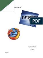 TUTORIAL Membuat Database