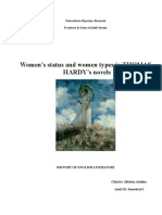 Women's Status in Thomas Hardy's Works