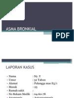 LAPORAN KASUS Asma Bronkial