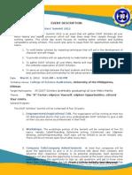 Summit 2012 Event Description[External Relations]