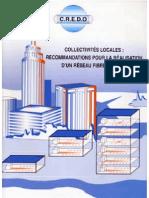 Cercle C.R.E.D.O - Collectivités Recommandations pour la réalisation d'un câblage fibre optique