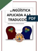 Lingüística aplicada a la traducción - APUNTES TEI 2011-2012