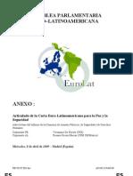 2009 Carta Euro-Latinoamericana para la Paz y la Seguridad