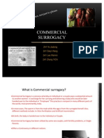 Commercial Surrogacy Power Point