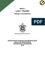 Modul Mahasiswa Forensik Dan Medico Legal 2010