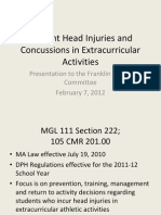 FPS_Student Head Injuries and Concussions_20120207