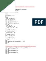 Unix Lab Programs