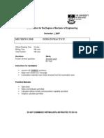 2007 DP exam