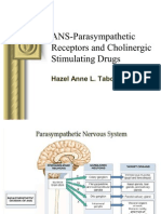 Lecture 7 - ANS-Parasympathetic Receptors and Cholinergic Stimulating Drugs