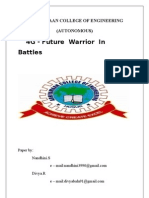 4G-Future Warrior in Battle