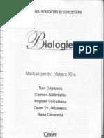 Manual de Biologie Clasa a XI