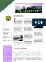 Rasa 2003 Alfa y Geoda