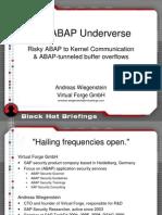 The ABAP Under Verse - Slides