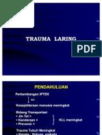 Trauma Laring