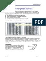 Minimizing Seam Puckering 2-5-10