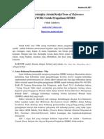 Menyusun Kerangka Acuan Kerja/Term of Reference (KAK/TOR) Untuk Pengadaan SIMRS