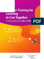 APCEIU Teachers Training Manual on EIU and ESD