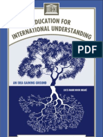 Education for International Understanding