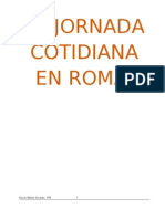 ROCÍO - JORNADA COTIDIANA EN ROMA