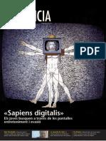 """""""Sapiens digitals"""" Sobre Joves i Pantalles a la Revista Presència 3 de febrer de 2012"""