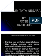 Materi Kuliah Hukum Tata Negara