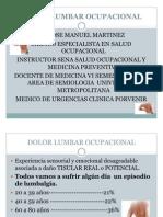 Dolor Lumbar Ocupacional Jose 2011