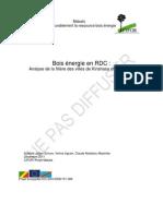 Schure Et Al Bois Energie en RDC Analyse de La Filiere Des Villes de Kinshasa Et Kisangani 114 11 2011