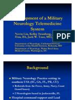 Military Neuro Telemedicine