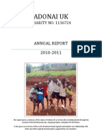 The Answers - Annual Report and Accounts 2010-2011 (2)