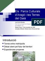 Els Parcs Culturals de l'Aragó i les Terres del Gaià