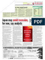 TheSun 2008-11-17 Page18 Japan May Avoid Recession for Now Say Analysts