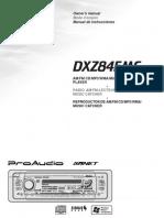 DXZ845MC English