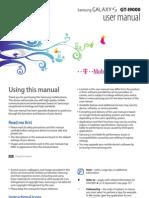 Samsung GT i9000 Manual