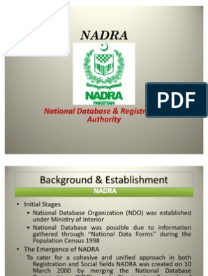 Nadra Record Search By Cnic Number